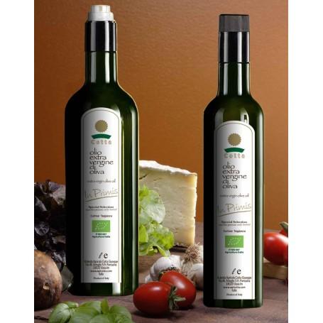 Cartone 6 bottiglie 1 Litro, In Primis Olio EVO Bio Raccolto precoce Nuovo Raccolto 2018/19