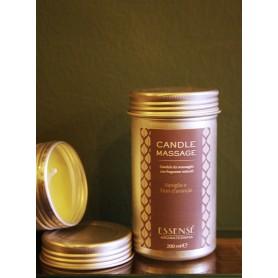 Candela da massaggio 100% naturale Vaniglia e Fiori di Arancio