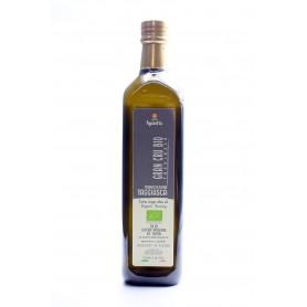 Cartone 6 bottiglie 1 Litro olio EVO biologico Taggiasca nuovo raccolto 2018/19