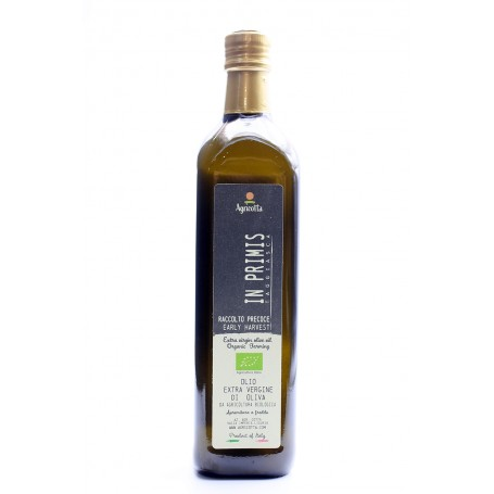 """In Primis"" Organic Extra virgin Olive Oil  Hearly Harvest 2020 750 ml"