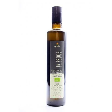 """""""In Primis"""" Olio extra vergine BIO RACCOLTO PRECOCE 500 ml Raccolto 2020/21"""