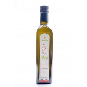 Extra virgin olive oil Taggiasca bottle 500 ml