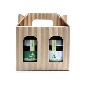 """Geschänkbox """"Die Bio Taggiasca Olive"""""""