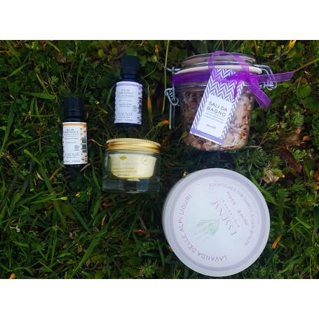 Kit per bagno e massaggio rilassante (offerta sconto-35%)