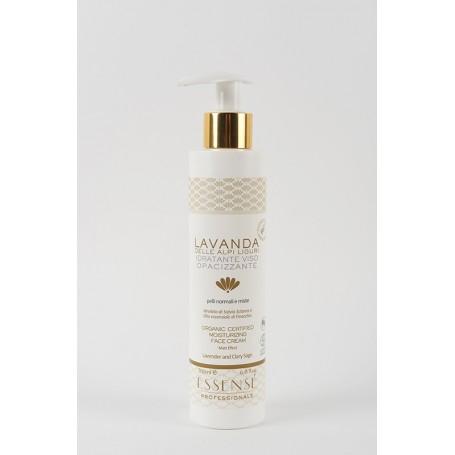 Crema viso opacizzante Lavanda e Salvia Bio Maxi Formato 200 ml