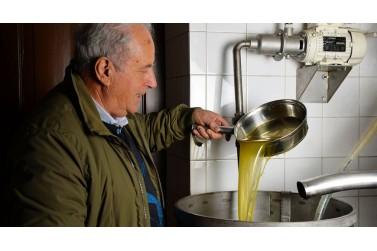 olio extra vergine biologico e olive taggiasche