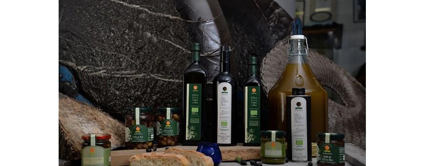 olio extra vergine biologico Taggiasca Liguria bio